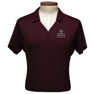 Women's Intern Polo Shirt in Maroon